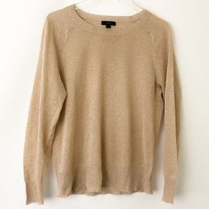 J. Crew Tissue Thin Shimmery Sweater